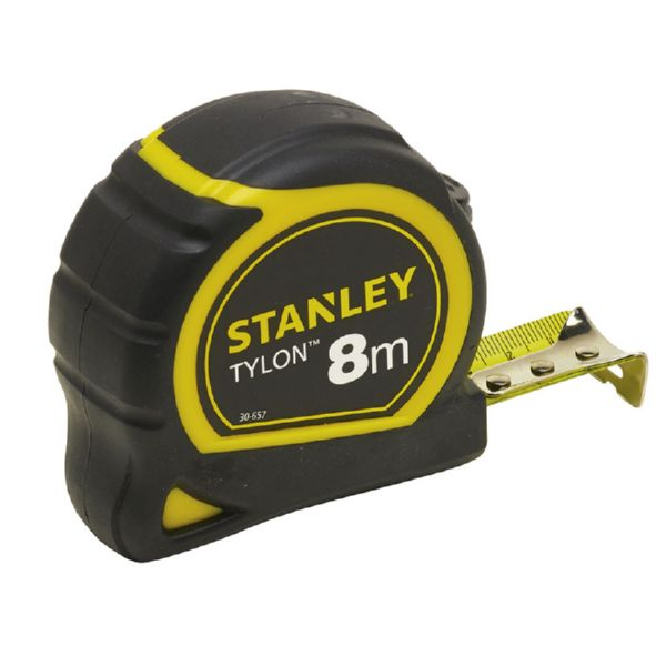 FLEXOMETRO STANLEY TYLON 8M X 25MM